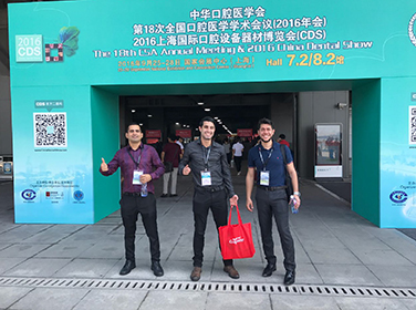 COIFE ODONTO PARTICIPA DA CHINA DENTAL SHOW.